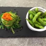 Insalata di granchio con avocado ed alghe+edamame