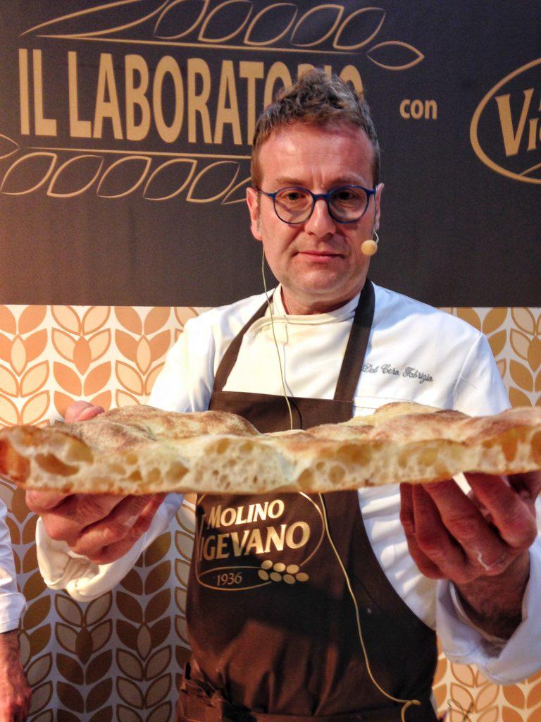 Fabrizio Dal Cero Cooking Class sulla pizza alla pala