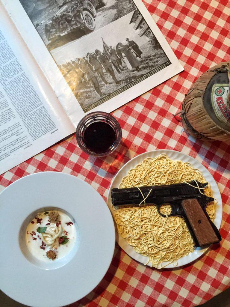 Spaghetti Gangster Al Cortile